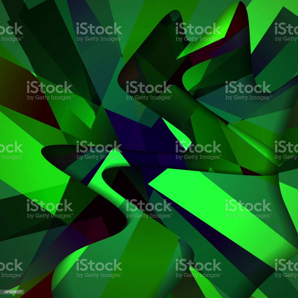 Abstract dark shape illustration royalty-free stock vector art