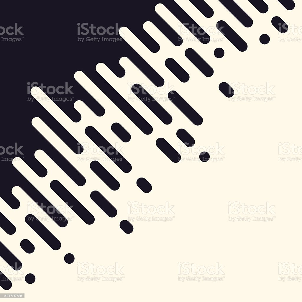 Abstract Dashed Line Halftone Pattern Background vector art illustration