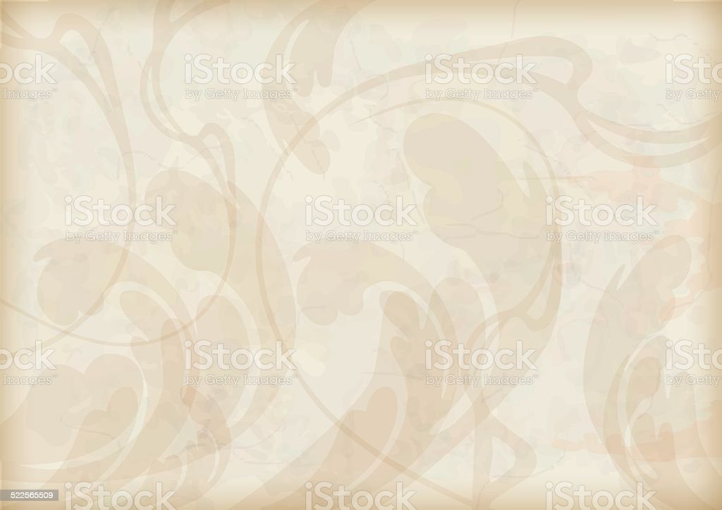Abstract decorative grunge textured background vector art illustration