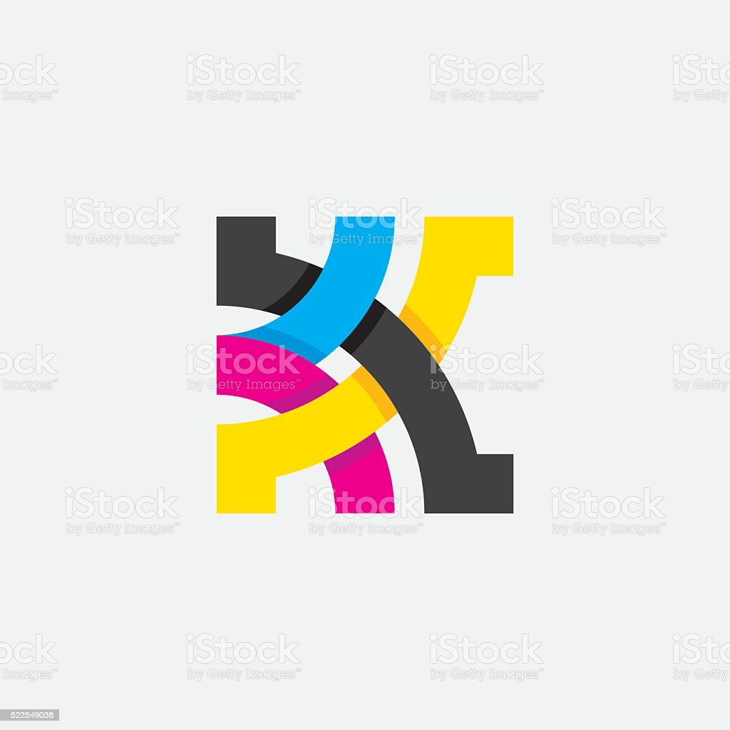 Abstract design element. vector art illustration