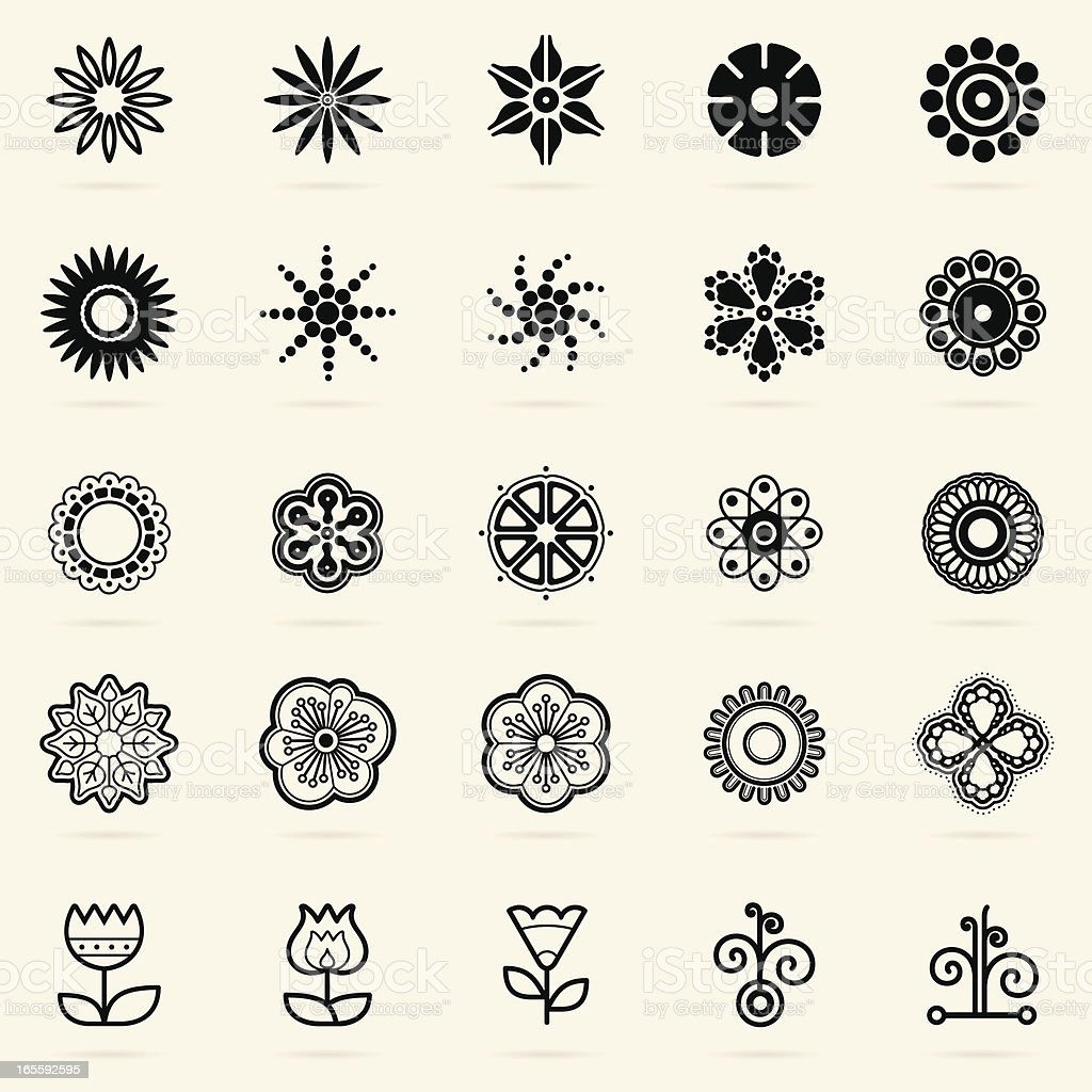 Abstract Design Elements royalty-free stock vector art