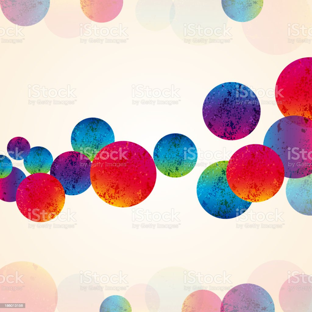 abstract design tech circles background royalty-free stock vector art
