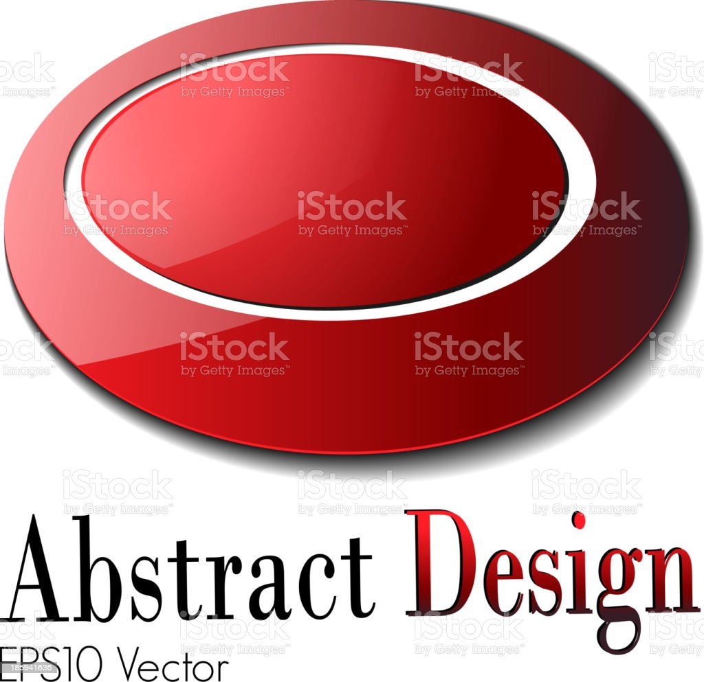 Abstract design vector art illustration