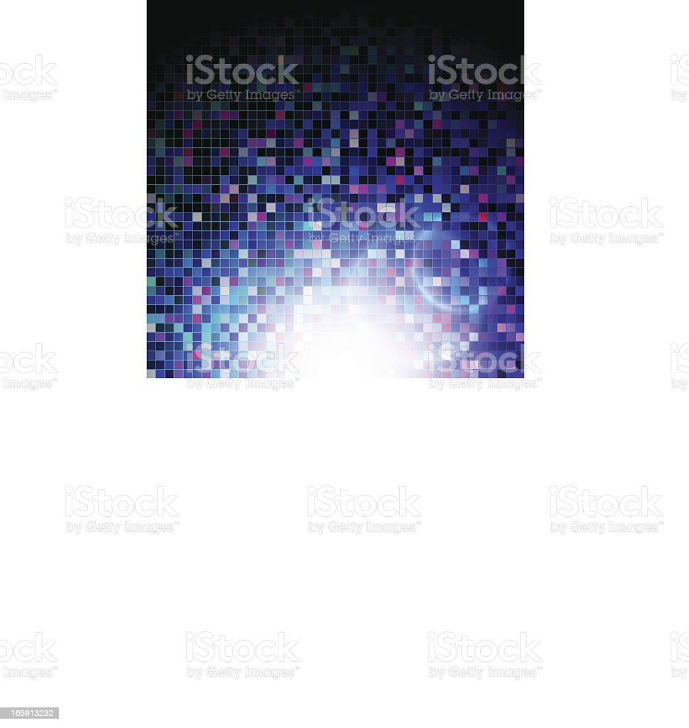 Abstract Disco Background royalty-free stock vector art