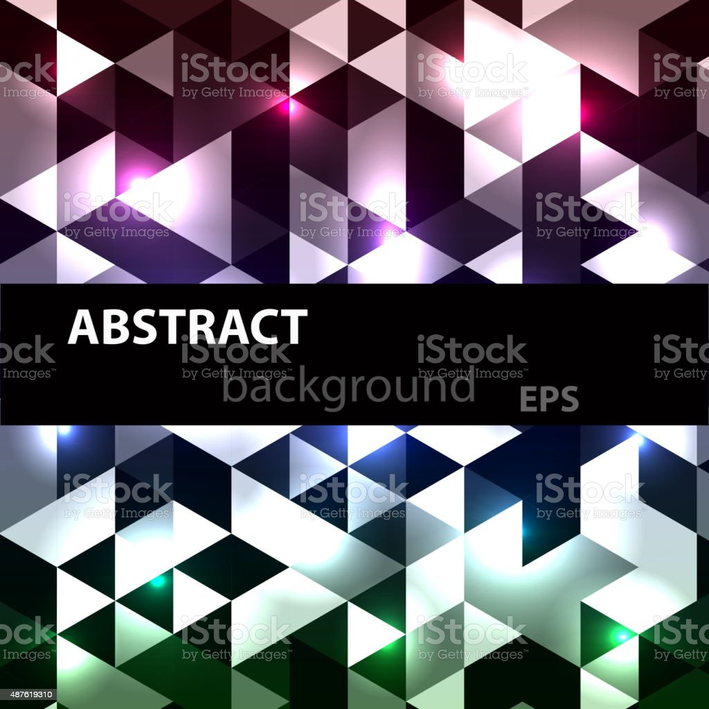 Abstract disco glowing of background. Vector illustration vector art illustration