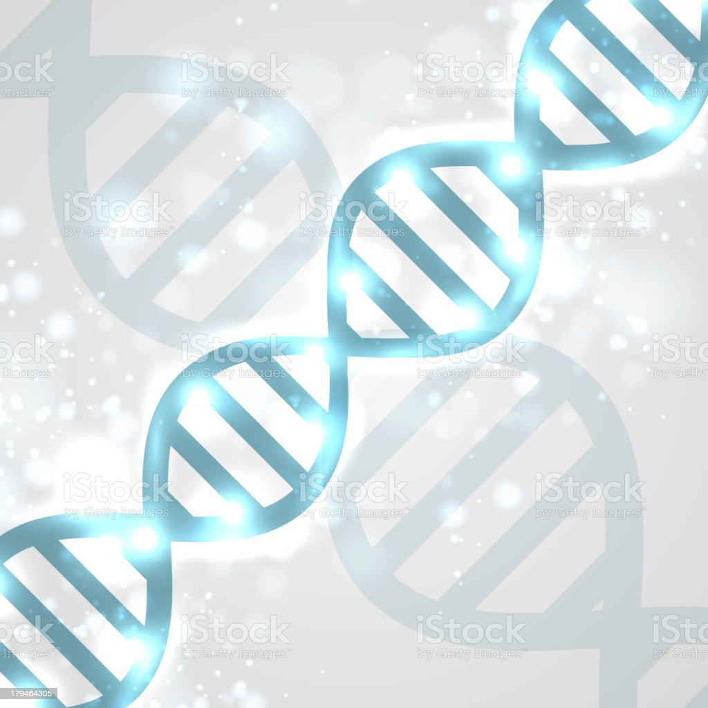 Abstract DNA royalty-free stock vector art