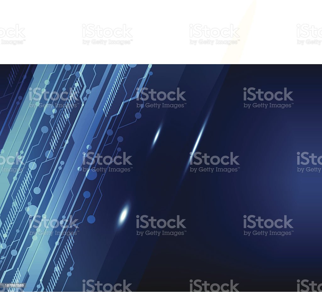 abstract electric line background royalty-free stock vector art