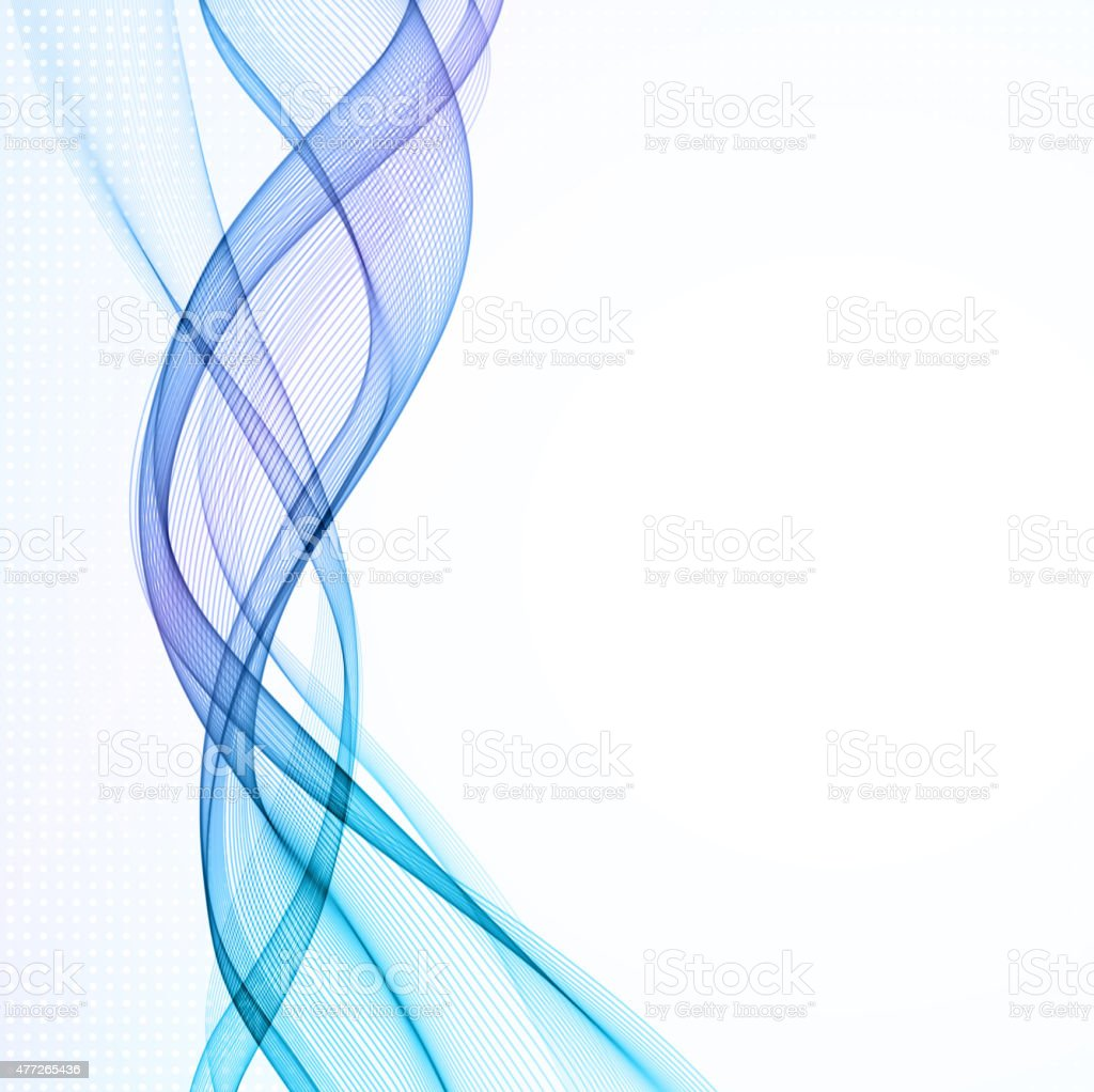 Abstract empty background with smoke wave vector art illustration