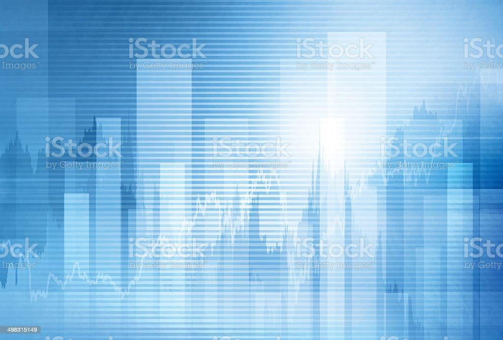 Abstract finance background vector art illustration
