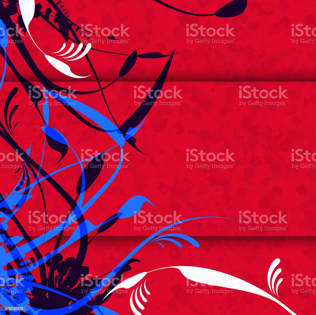 abstract floral pattern background royalty-free stock vector art