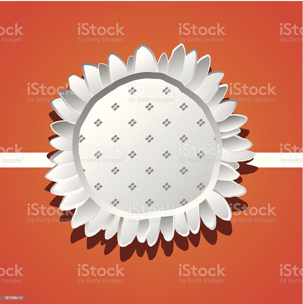 Abstract flower royalty-free stock vector art