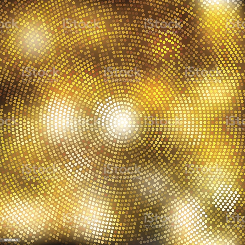 Abstract fractal background vector art illustration