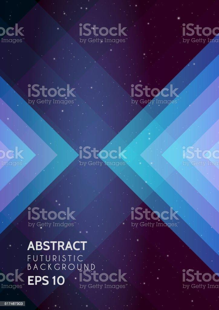 Abstract futuristic background vector art illustration