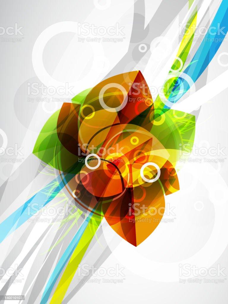 Abstract futuristic design royalty-free stock vector art