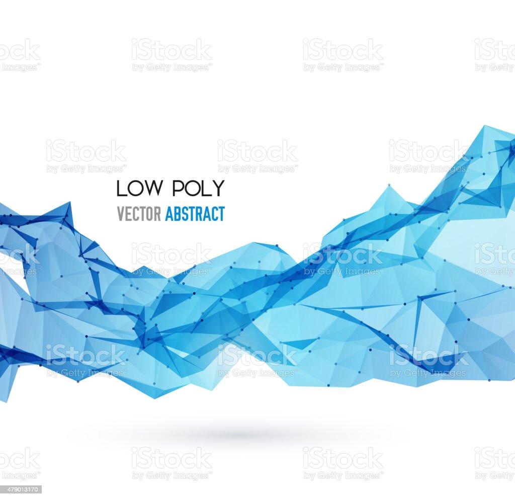 Abstract Geometric Background Design vector art illustration
