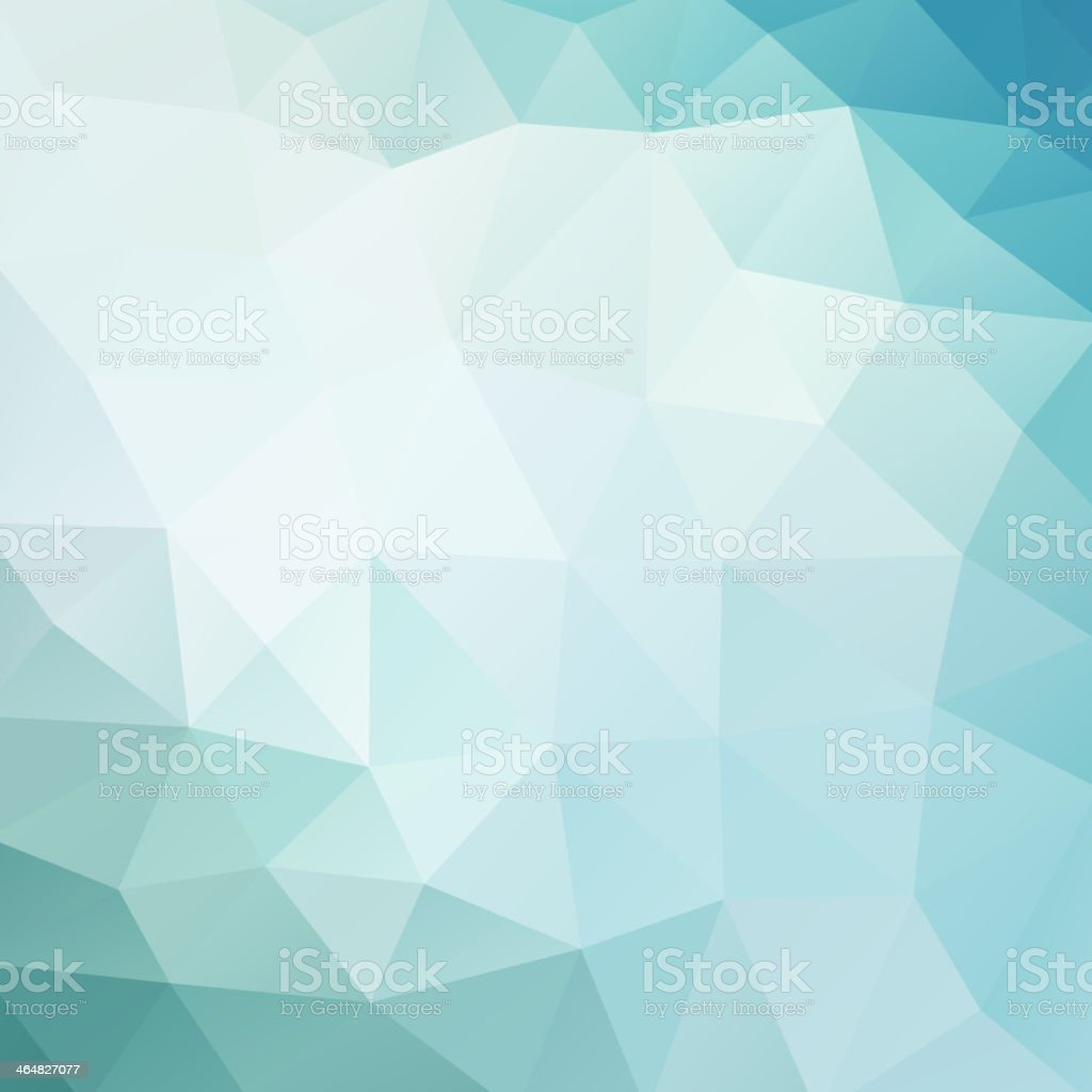 Abstract geometric background in blue and white vector art illustration