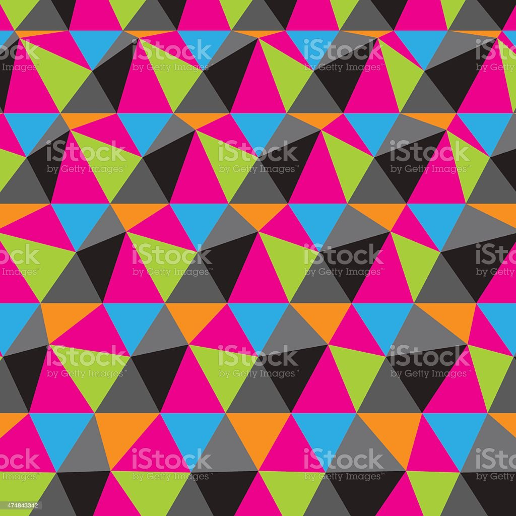 Abstract geometric background. Mosaic. Vector illustration. vector art illustration