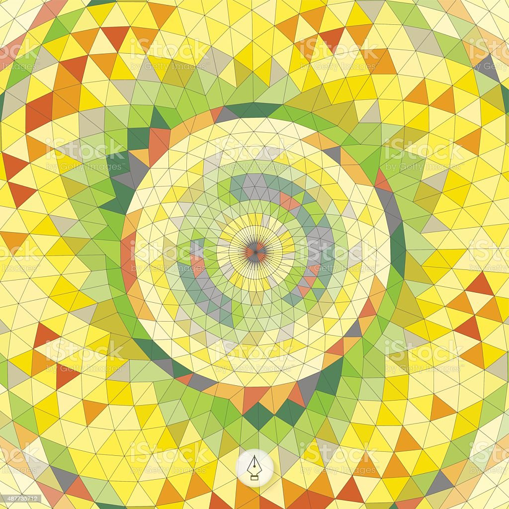 Abstract geometric background. Mosaic. Vector illustration. vector art illustration