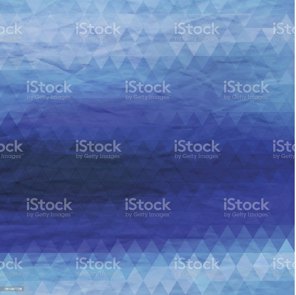 Abstract geometric background. Triangle pattern. royalty-free stock vector art