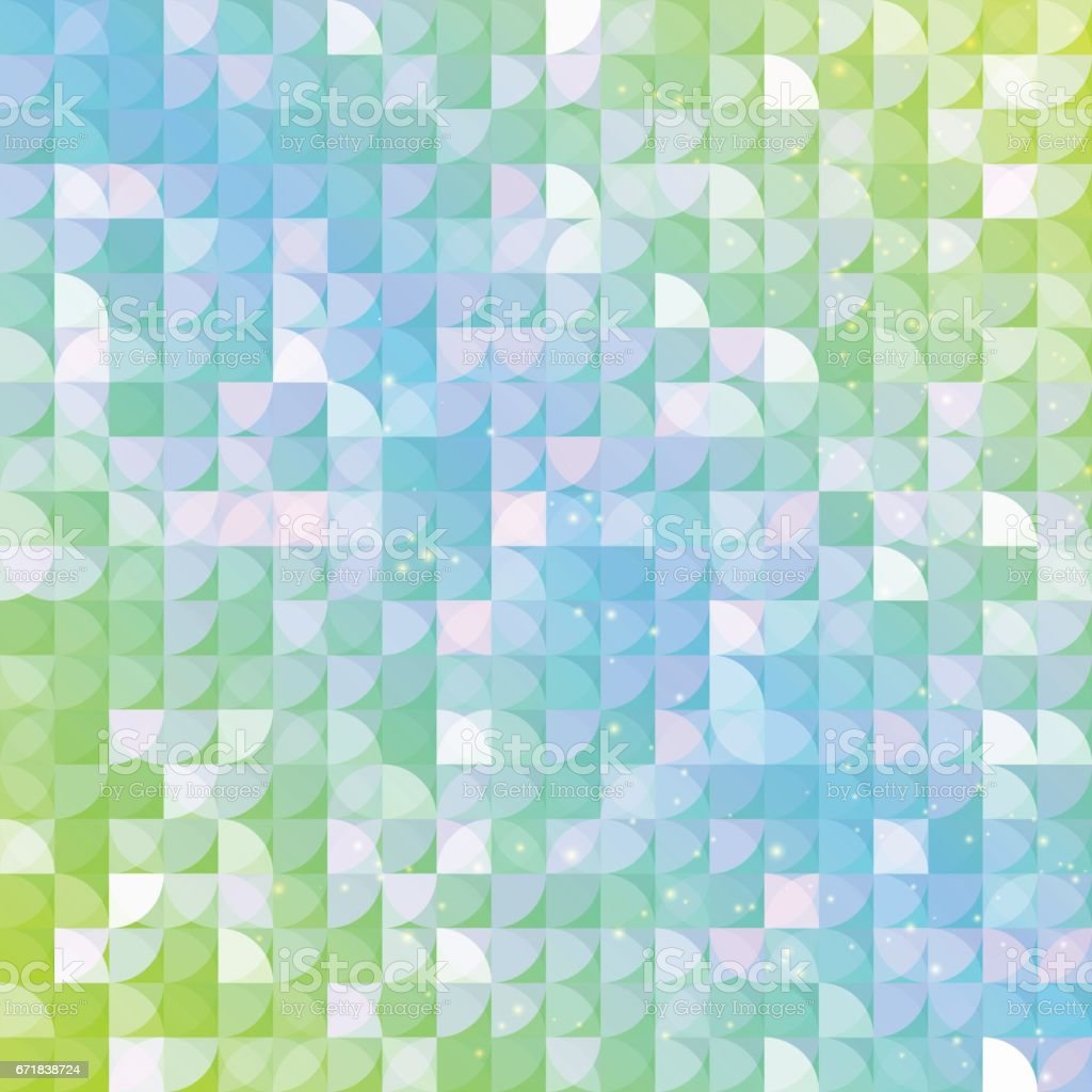 Abstract geometric background. vector art illustration
