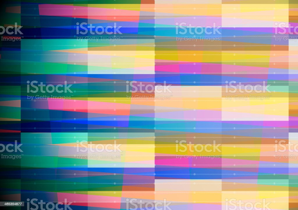 Abstract geometric background with blue edge royalty-free stock vector art
