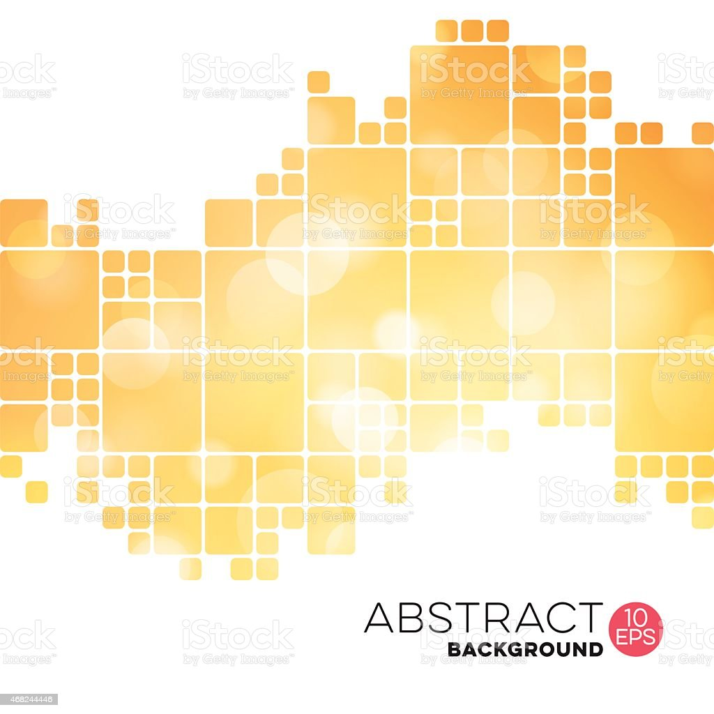Abstract Geometric Defocused Background vector art illustration