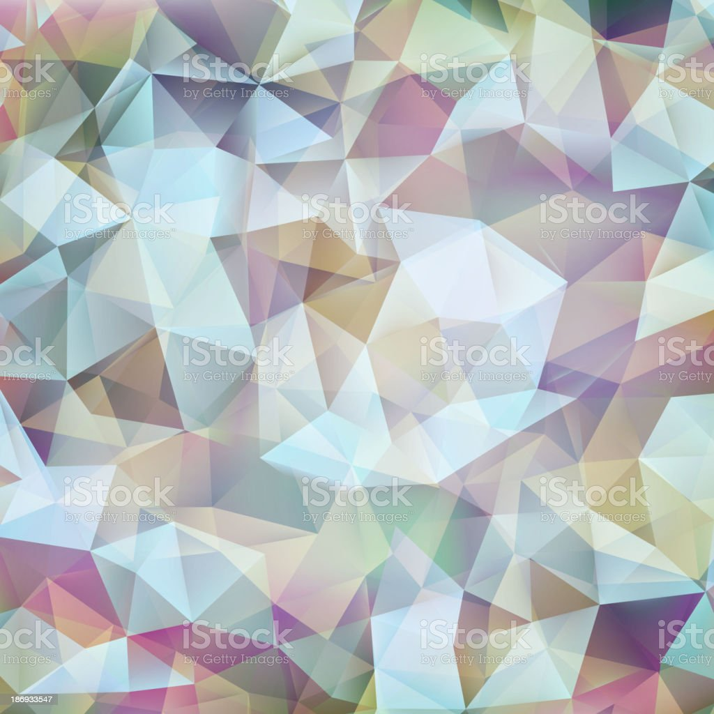 Abstract geometric design shape pattern. EPS 10 royalty-free stock vector art