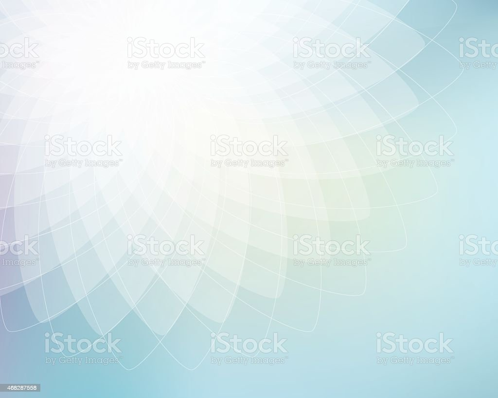 Abstract geometric ellipses background vector art illustration