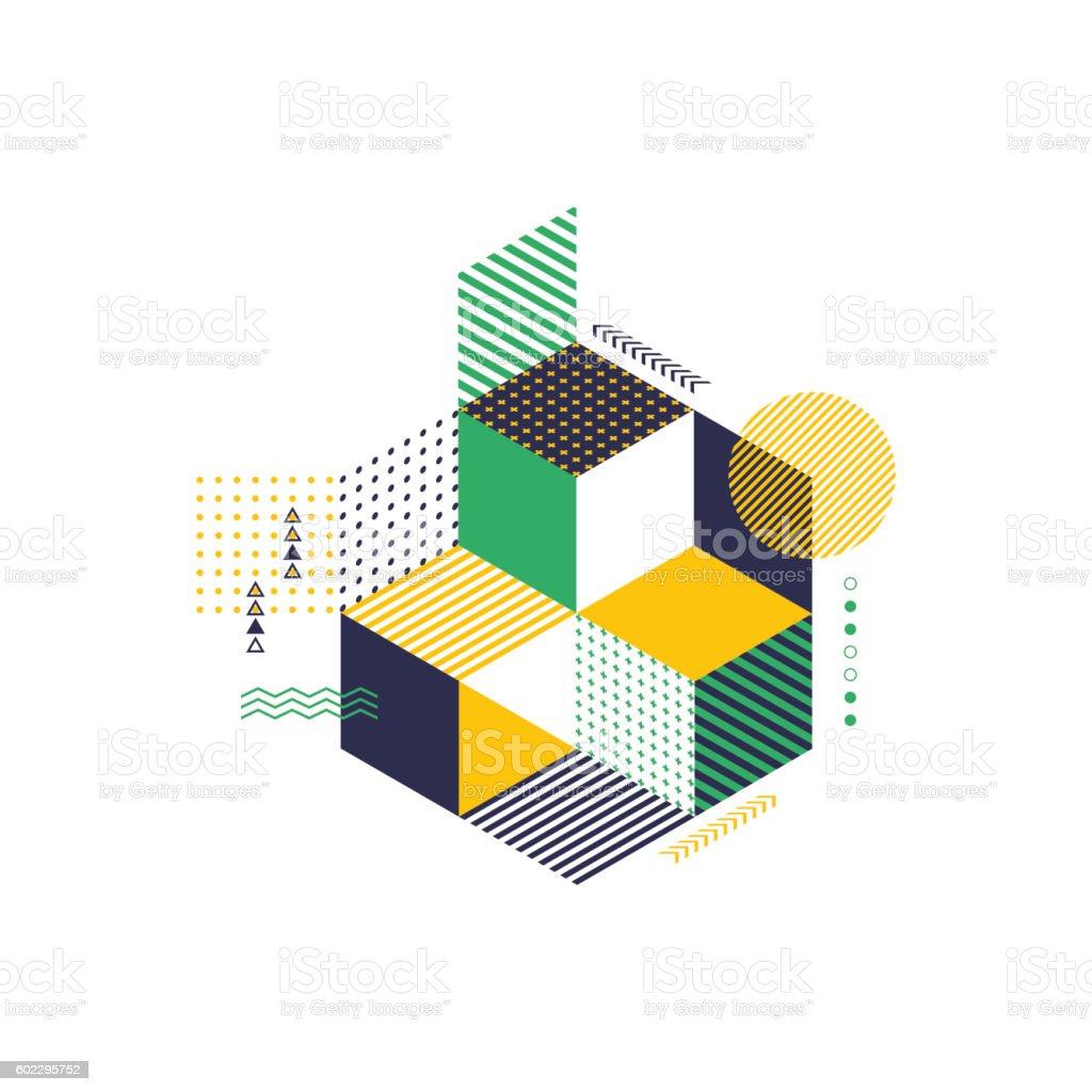 Abstract geometric modern background vector illustration vector art illustration
