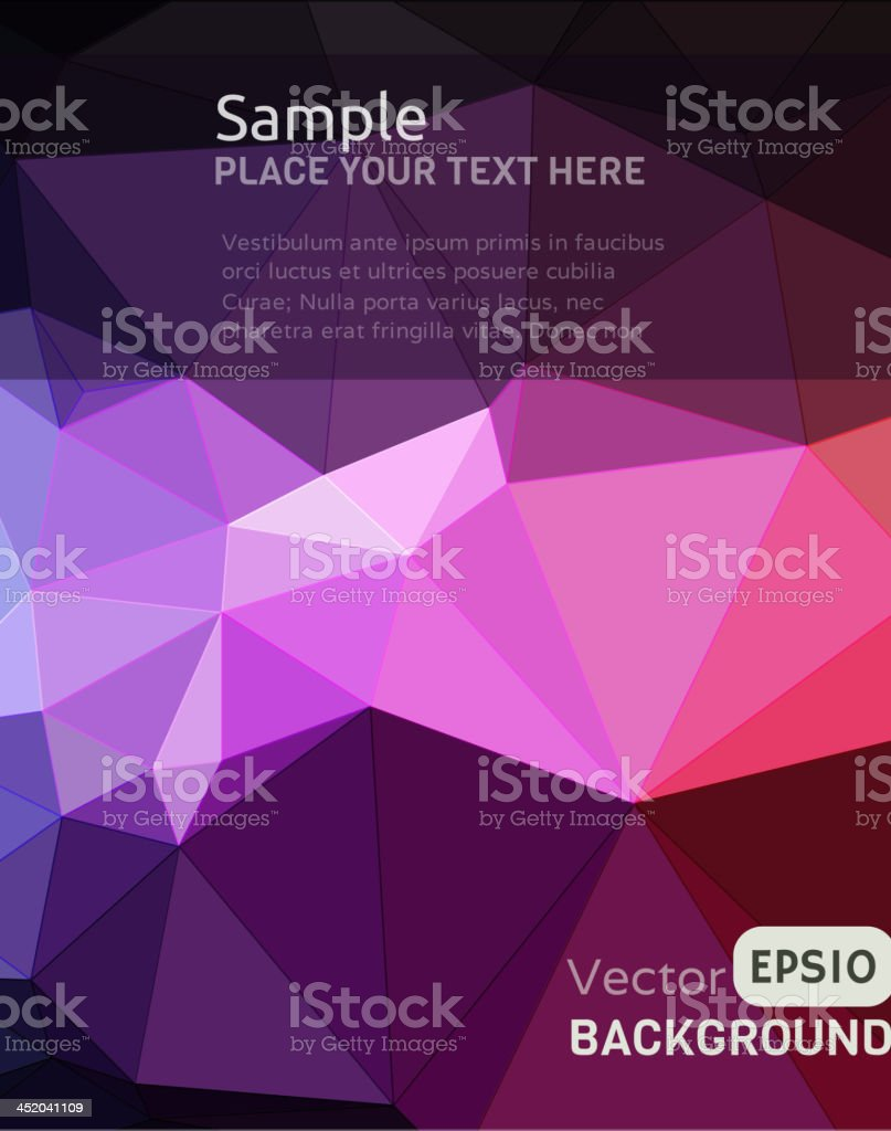 Abstract geometric pattern background royalty-free stock vector art