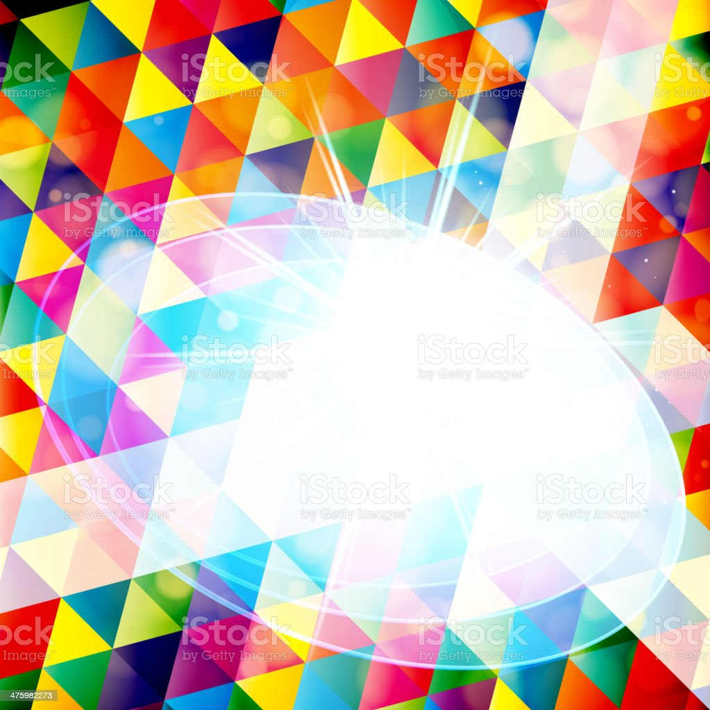 Abstract geometric pattern royalty-free stock vector art