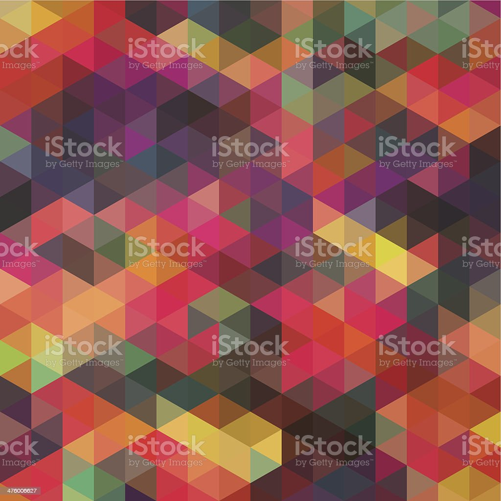 Abstract geometric pattern vector art illustration