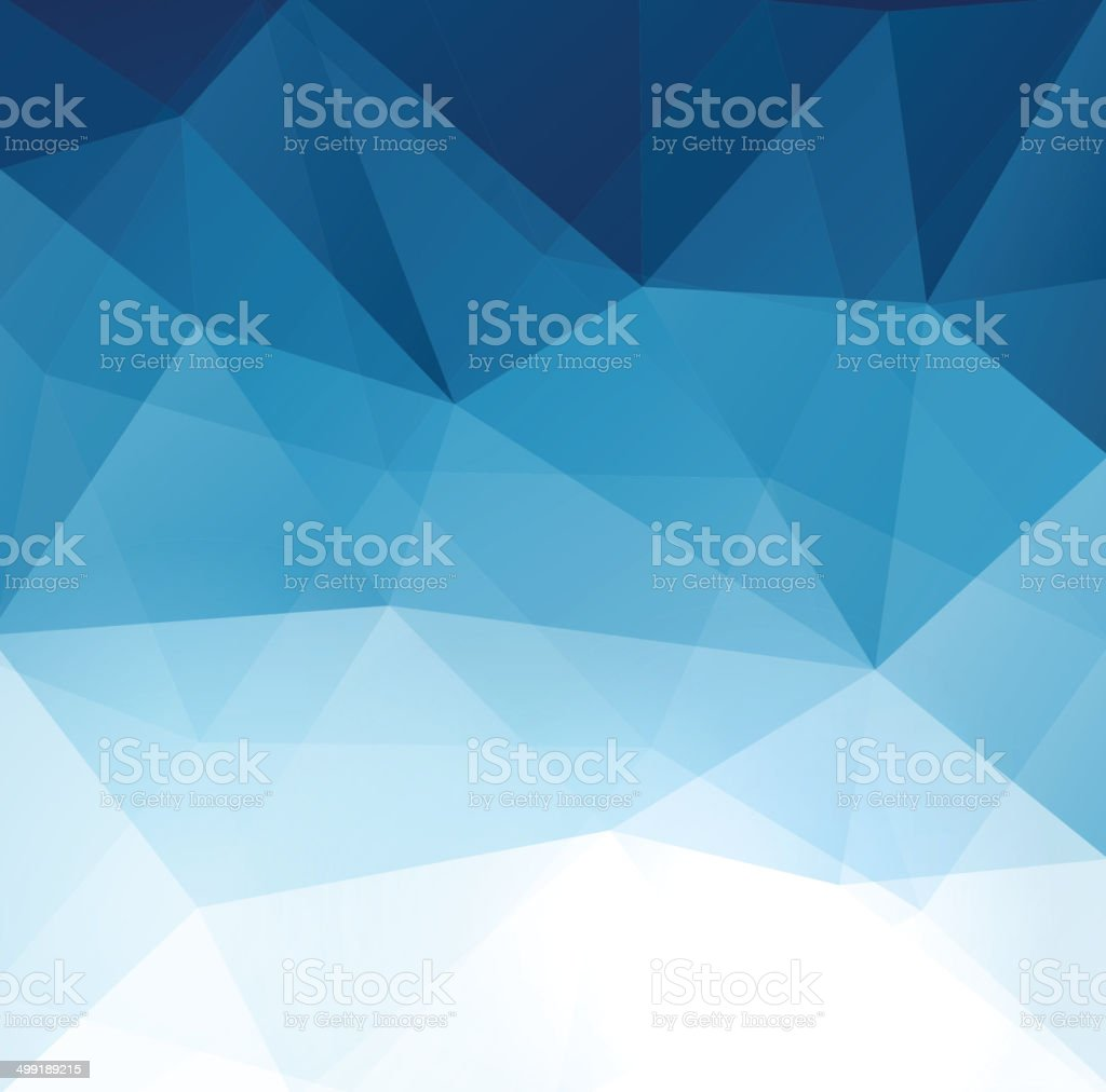 Abstract geometric polygonal background. vector art illustration