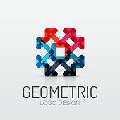 Abstract geometric shape    icon