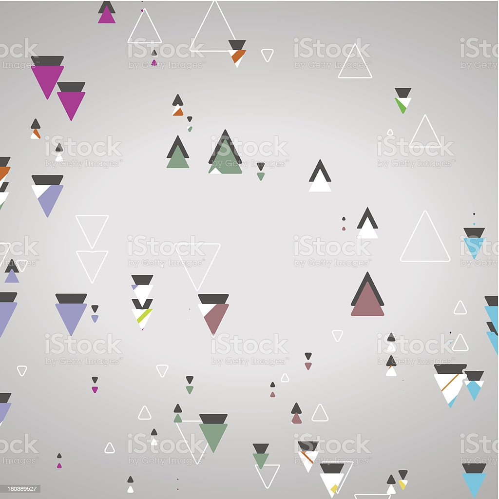 Abstract geometric shapes royalty-free stock vector art