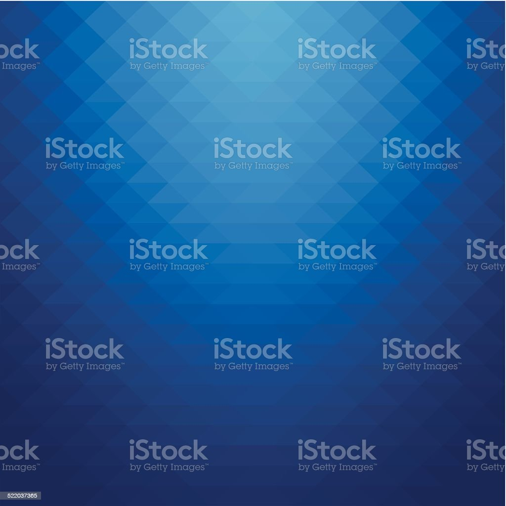 Abstract geometric style blue background vector art illustration