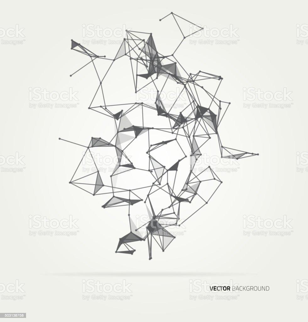 Abstract geometric technology vector design element vector art illustration