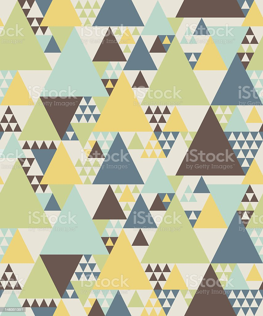 Abstract geometric texture royalty-free stock vector art