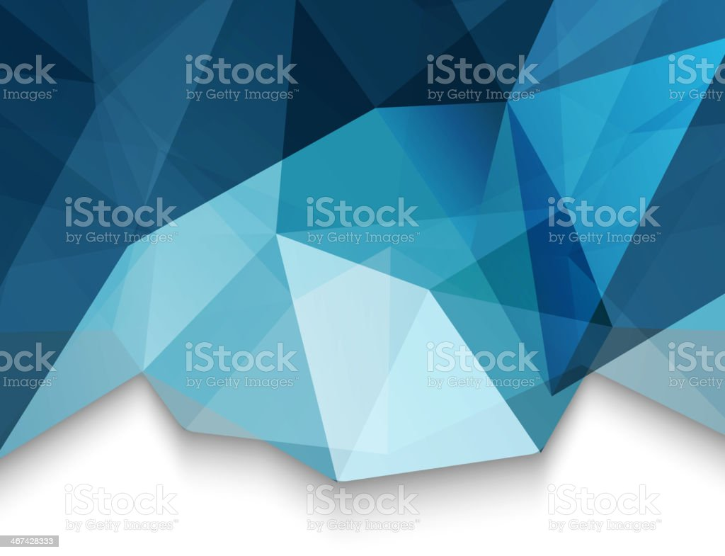 Abstract geometric triangles background royalty-free stock vector art