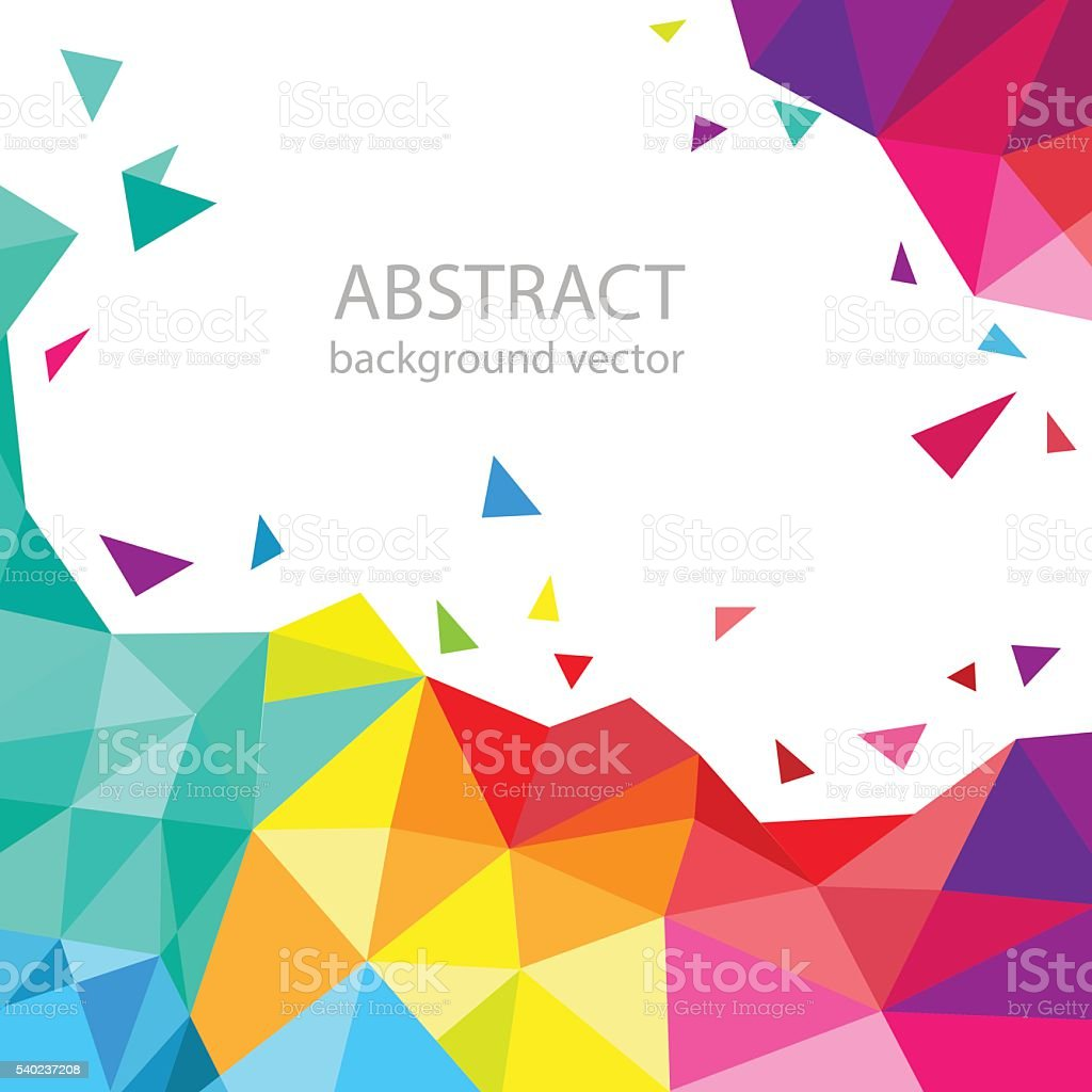 Abstract geometric vector background. for your text. vector art illustration