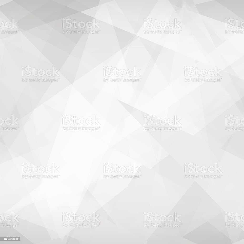 Abstract geometric vector background in various gray tones vector art illustration