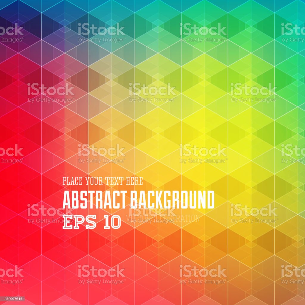 Abstract geometric vector background royalty-free stock vector art