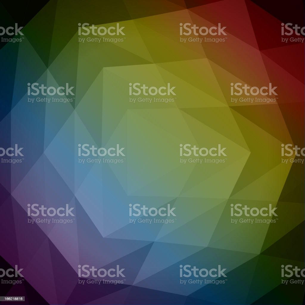 Abstract geometric royalty-free stock vector art