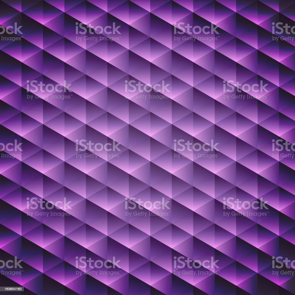 Abstract  geometric violet cubic background royalty-free stock vector art