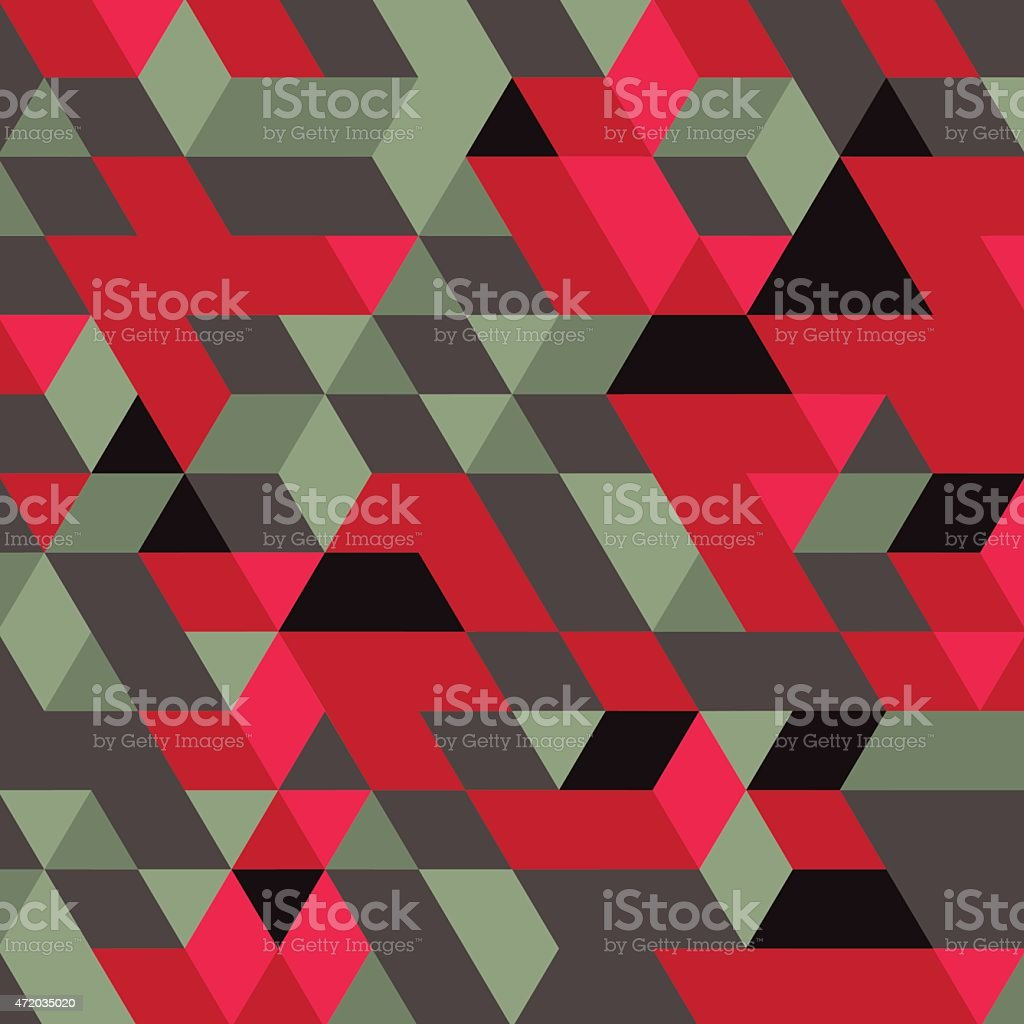 Abstract geometrical 3d background. vector art illustration