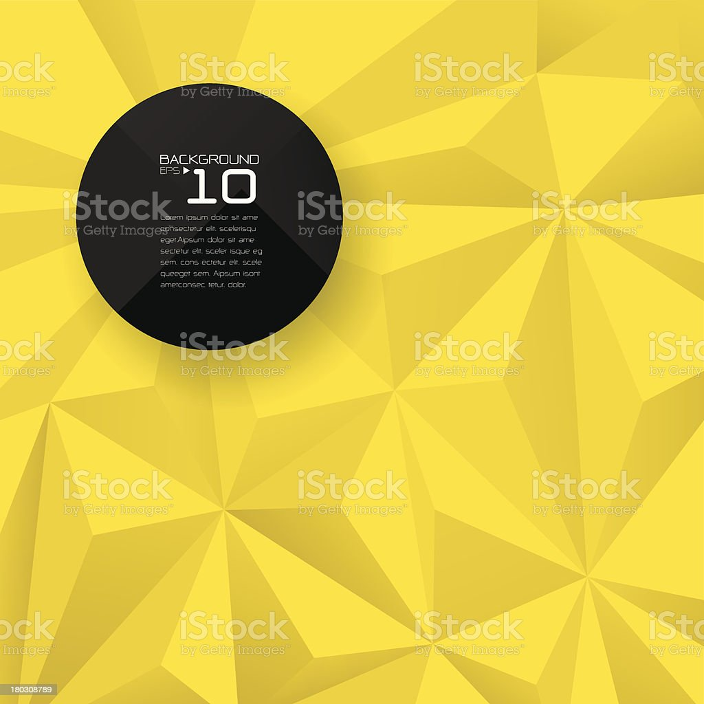 Abstract geometrical background. vector art illustration