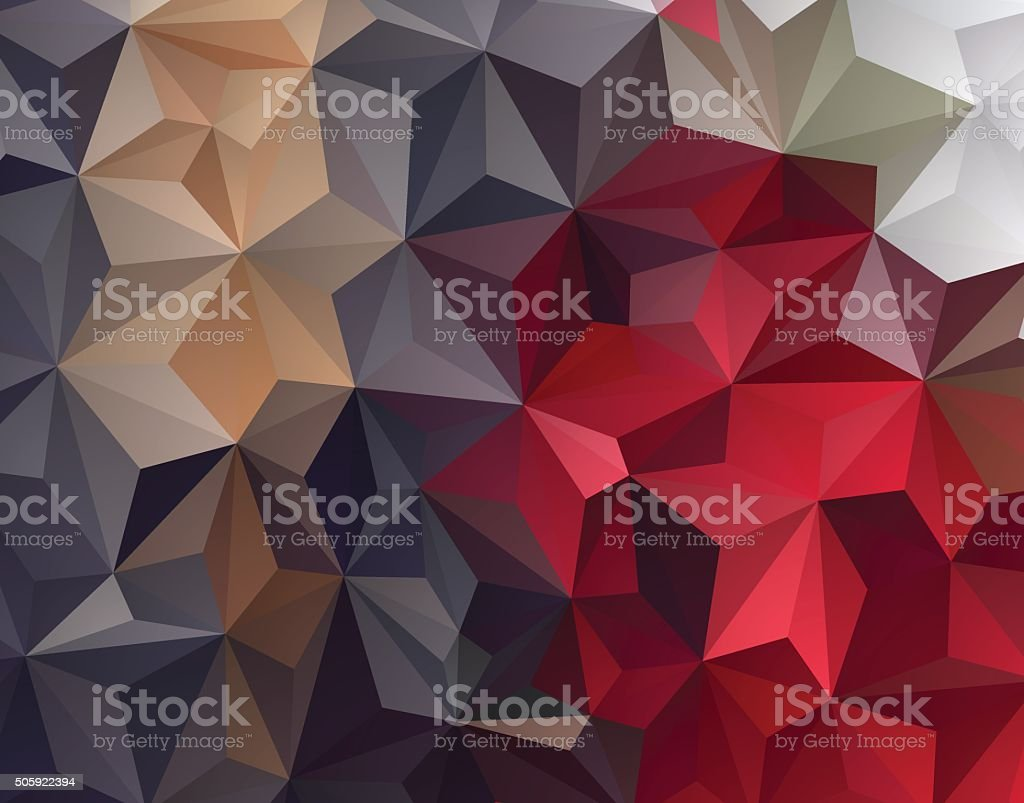Abstract Geometrical Background vector art illustration