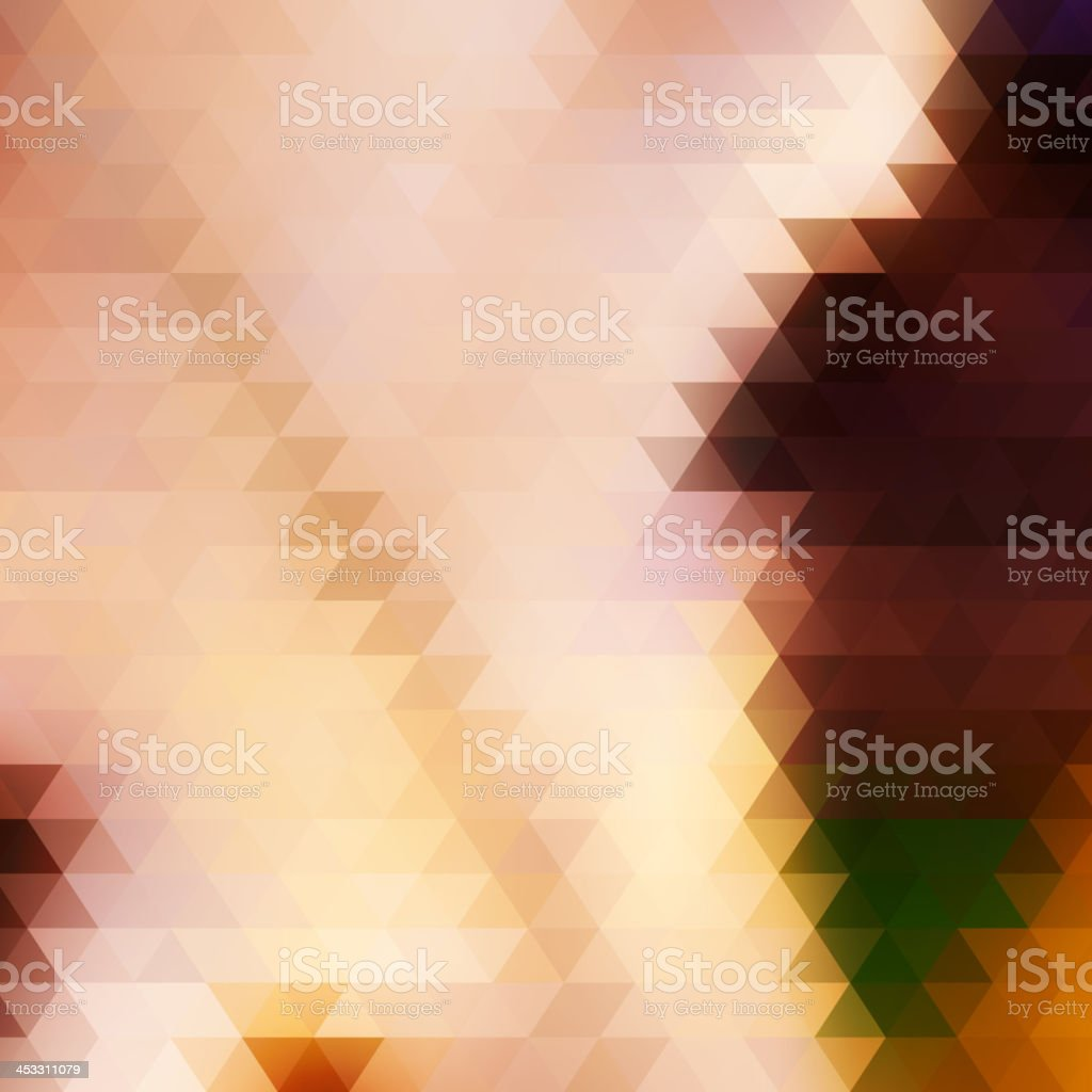 Abstract Geometrical Multicolored Background. royalty-free stock vector art
