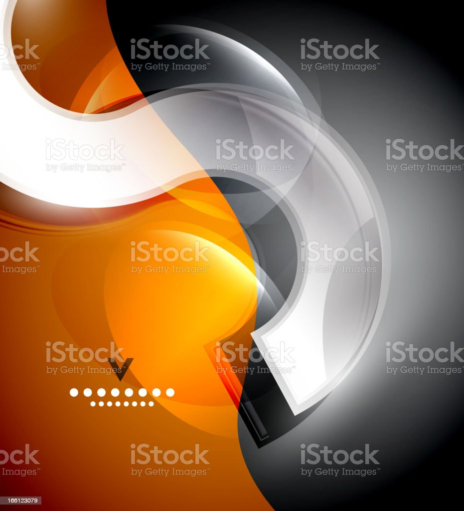 Abstract glass background royalty-free stock vector art