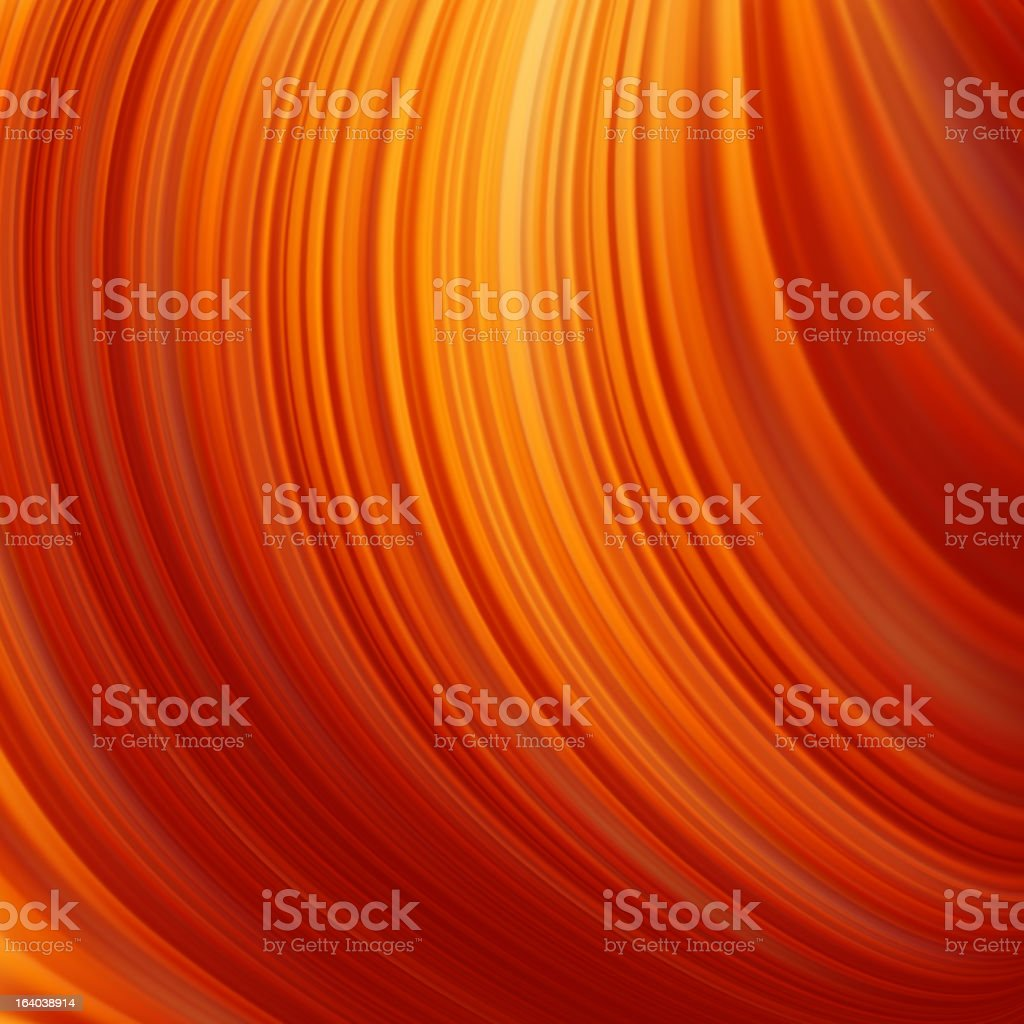 Abstract glow Twist with fire flow. EPS 8 royalty-free stock vector art